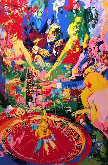 Green Table 1974 Limited Edition Print by LeRoy Neiman