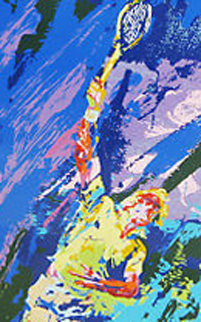 Classic Serve 2002 Limited Edition Print by LeRoy Neiman