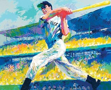 Dimaggio Cut AP 1998 HS By Joe Limited Edition Print by LeRoy Neiman