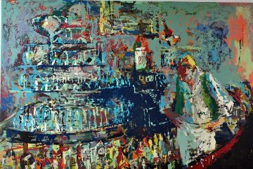 Mixologist AP 1983 Limited Edition Print - LeRoy Neiman
