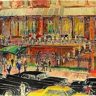 21 Club AP 1990 Limited Edition Print by LeRoy Neiman