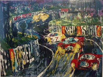 24 Hours At Lemans HC 1987 Limited Edition Print by LeRoy Neiman