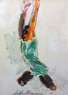 Pele 11x15 Works on Paper (not prints) by LeRoy Neiman