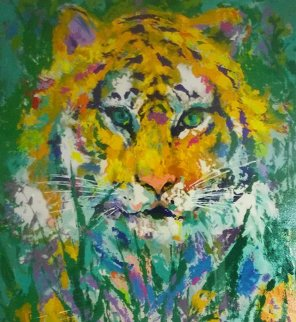 Portrait of a Tiger 1998 Limited Edition Print by LeRoy Neiman