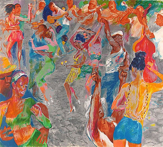 Havana Rhythm 2000 Limited Edition Print by LeRoy Neiman