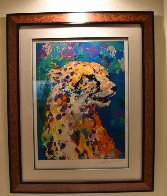 Portrait of a Cheetah 2004 Limited Edition Print by LeRoy Neiman - 1