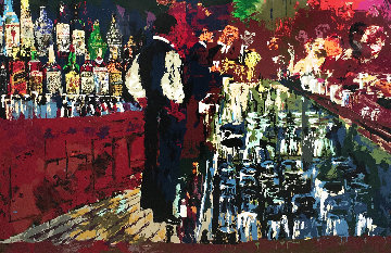 Chicago Key Club Bar (Playboy)  1989  Limited Edition Print - LeRoy Neiman