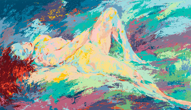 Homage to Boucher 1972 Limited Edition Print by LeRoy Neiman