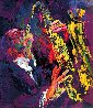 Saxman 1975 Limited Edition Print by LeRoy Neiman - 0
