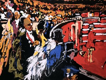 International Horse Show, New York AP 2007  Limited Edition Print by LeRoy Neiman
