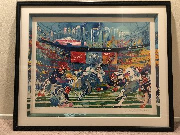 Super Bowl XVIII: Georgia Dome AP 1994 Limited Edition Print by LeRoy Neiman