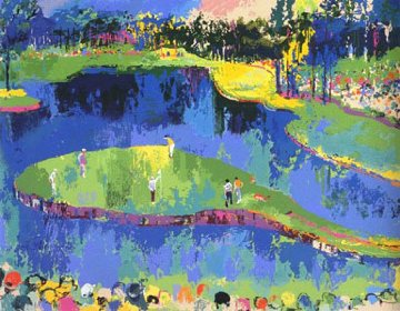 Big Time Golf, Suite of 4 1992 Limited Edition Print - LeRoy Neiman