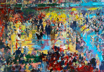 Introduction of the Champions Madison Square Garden 1977 Limited Edition Print by LeRoy Neiman