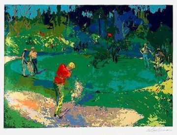 Golf's Threesome (Trevino, Nicklaus, Palmer) 1978 Limited Edition Print - LeRoy Neiman