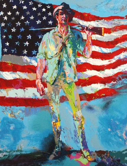 Minuteman 2002 Limited Edition Print by LeRoy Neiman