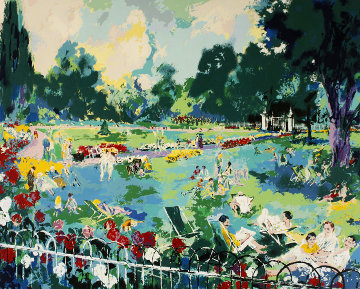 Regents Park 1984 Limited Edition Print by LeRoy Neiman