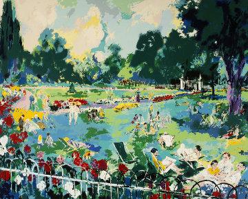 Regents Park 1984 Limited Edition Print - LeRoy Neiman