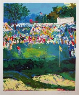Bethpage Black Course, 2002 Us Open Limited Edition Print - LeRoy Neiman