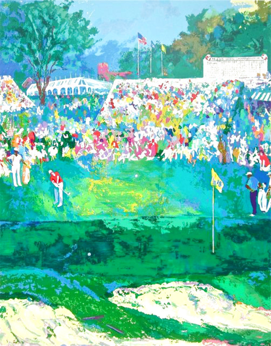 Bethpage Black Course, 2002 US Open 2002 Limited Edition Print by LeRoy Neiman