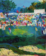 Bethpage Black Course, 2002 US Open 2002 Limited Edition Print by LeRoy Neiman - 2