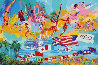 American Gold #1 in the Edition 1984 Limited Edition Print by LeRoy Neiman - 0