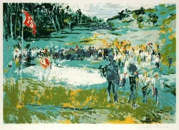 Tournament Golf 1974 Limited Edition Print - LeRoy Neiman