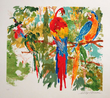 Birds of Paradise 2005 Limited Edition Print - LeRoy Neiman