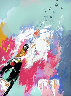 Champagne New Years Eve 2006 Limited Edition Print - LeRoy Neiman