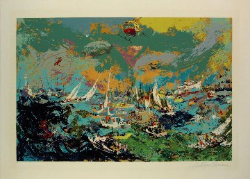 Spectator's Fleet America's Cup 1978 Limited Edition Print - LeRoy Neiman