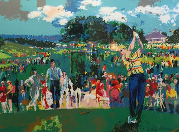April At Augusta 1990 Limited Edition Print by LeRoy Neiman