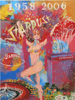 Stardust Reflections 2006 Las Vegas Limited Edition Print - LeRoy Neiman