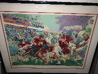 Superbowl XIX 49ers Vs. Dolphins 1985 Limited Edition Print by LeRoy Neiman - 1