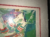 Superbowl XIX 49ers Vs. Dolphins 1985 Limited Edition Print by LeRoy Neiman - 2