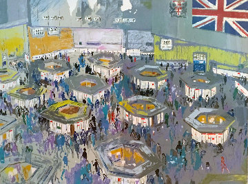 London Stock Exchange 1987 Limited Edition Print by LeRoy Neiman