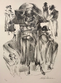 Faces of Napoleon Limited Edition Print - LeRoy Neiman