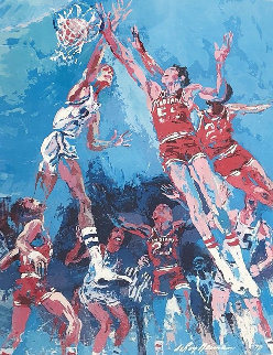 Hoosier Hoopla 1975 Limited Edition Print - LeRoy Neiman