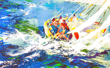 Aegean Sailing 1979 Limited Edition Print - LeRoy Neiman
