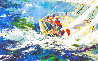 Aegean Sailing 1979 Limited Edition Print by LeRoy Neiman - 0