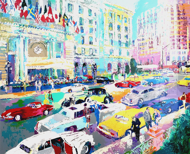 Nob Hill 1986 Limited Edition Print by LeRoy Neiman