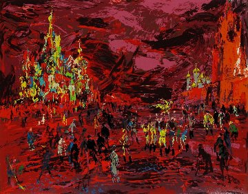 Red Square 1980 Limited Edition Print - LeRoy Neiman