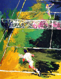 Blood Tennis AP 1981 Limited Edition Print - LeRoy Neiman