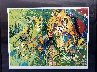 Lion Family 1974 Limited Edition Print by LeRoy Neiman - 1