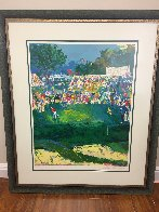 Bethpage Black Course 2002 Us Open- Golf Limited Edition Print by LeRoy Neiman - 1