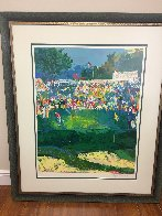 Bethpage Black Course 2002 Us Open- Golf Limited Edition Print by LeRoy Neiman - 2