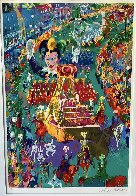 Mardi Gras Parade 2002 Limited Edition Print by LeRoy Neiman - 2