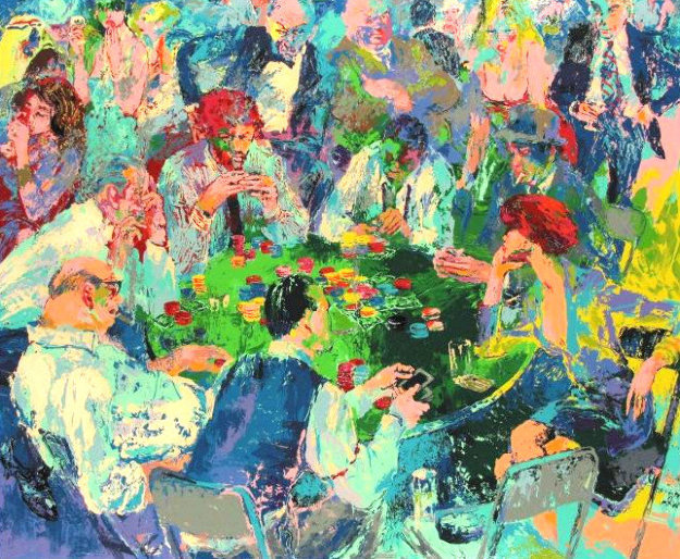 Stud Poker 1978 by LeRoy Neiman