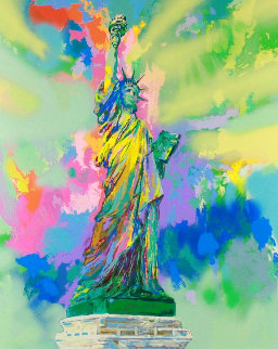 Lady Liberty  Limited Edition Print by LeRoy Neiman