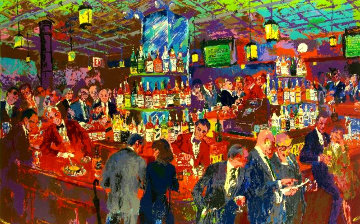Harry's Wall Street Bar  Limited Edition Print - LeRoy Neiman