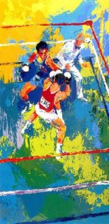 Olympic Boxing Moscow 1980 Limited Edition Print - LeRoy Neiman