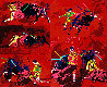 Red Corrida AP 1974 Limited Edition Print by LeRoy Neiman - 0